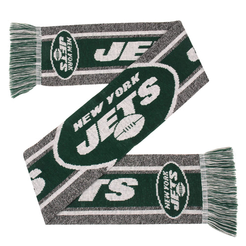 New York Jets Charcoal Logo Scarf - Dynasty Sports & Framing