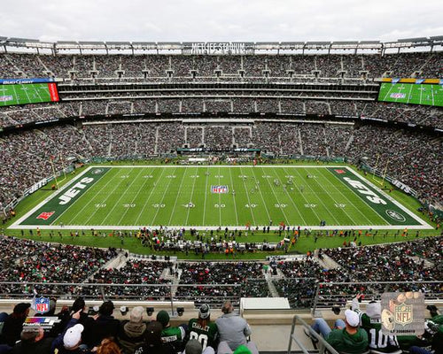 "New York Jets MetLife Stadium 8"" x 10"" Football Photo - Dynasty Sports & Framing"