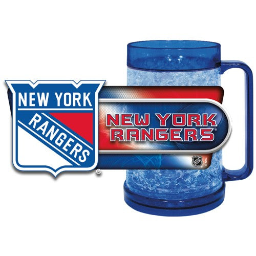 New York Rangers NHL Hockey Freezer Mug - Dynasty Sports & Framing