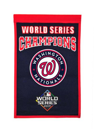 Washington Nationals World Series Championship Banner - Dynasty Sports & Framing