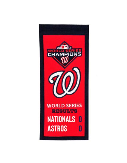 Washington Nationals 2019 World Series Championship Mini-Banner