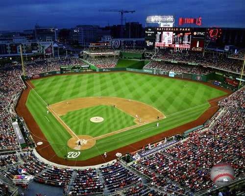"Washington Nationals Park 8"" x 10"" Baseball Stadium Photo - Dynasty Sports & Framing"