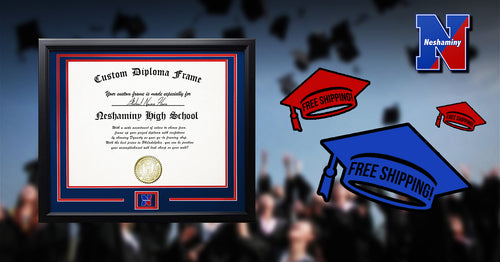 Neshaminy High School Graduation Diploma Frame - Dynasty Sports & Framing