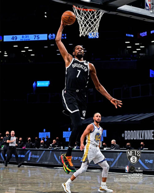 "Kevin Durant in Action Brooklyn Nets 8"" x 10"" Basketball Photo - Dynasty Sports & Framing"