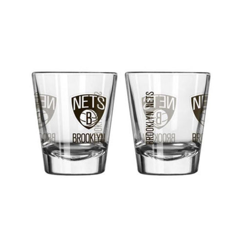 Brooklyn Nets Game Day Shot Glass - Dynasty Sports & Framing