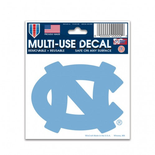 "North Carolina Tar Heels NCAA College 3"" x 4"" Decal - Dynasty Sports & Framing"