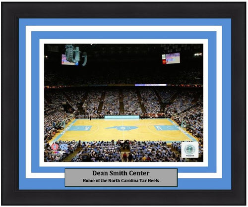 "North Carolina Tar Heels Dean Smith Center NCAA College Basketball Stadium 8"" x 10"" Framed and Matted Photo"