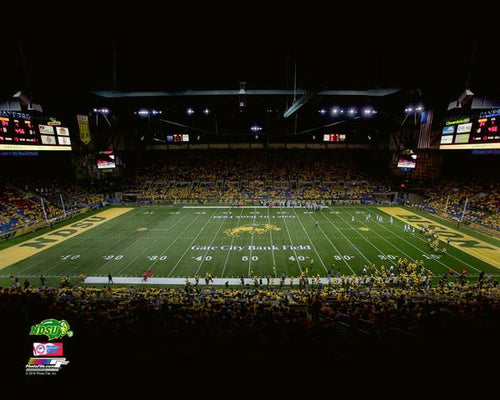 "North Dakota State Bison Fargodome NCAA College Football Stadium 8"" x 10"" Photo - Dynasty Sports & Framing"