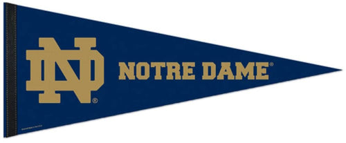 Notre Dame Fighting Irish 12x30 Premium College Pennant - Dynasty Sports & Framing