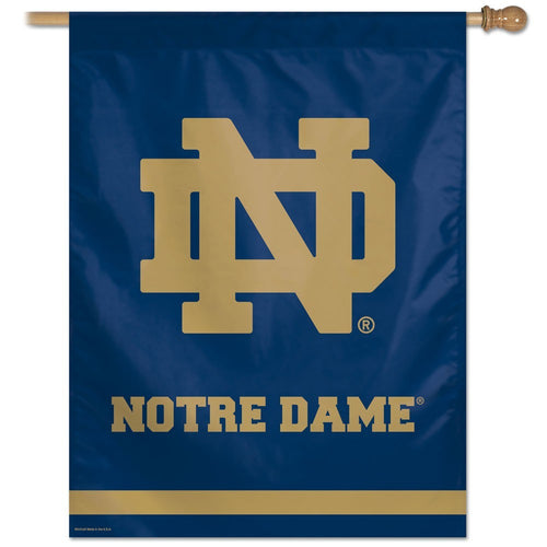 Notre Dame Fighting Irish NCAA College Vertical Flag - Dynasty Sports & Framing