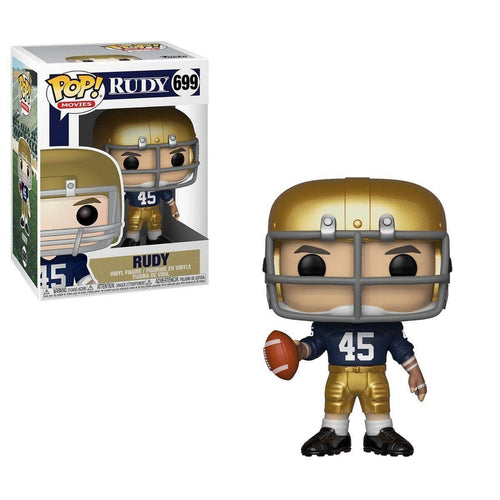 Rudy Ruettiger Notre Dame Fighting Irish Funko Pop! NCAA College Football Vinyl Figure