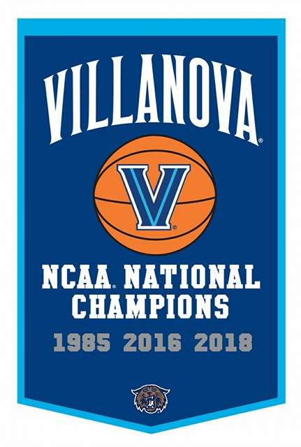 Villanova Wildcats NCAA College 2018 Dynasty Championship Banner