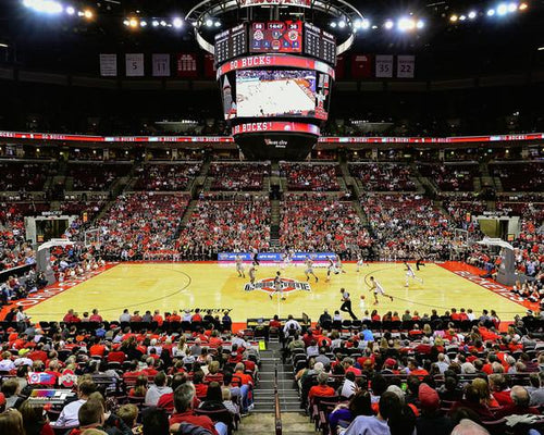 "Ohio State Buckeyes Schottenstein Center 8"" x 10"" College Basketball Stadium Photo - Dynasty Sports & Framing"