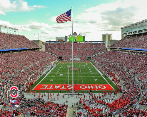 "Ohio State Buckeyes Ohio Stadium NCAA College Football 8"" x 10"" Photo - Dynasty Sports & Framing"