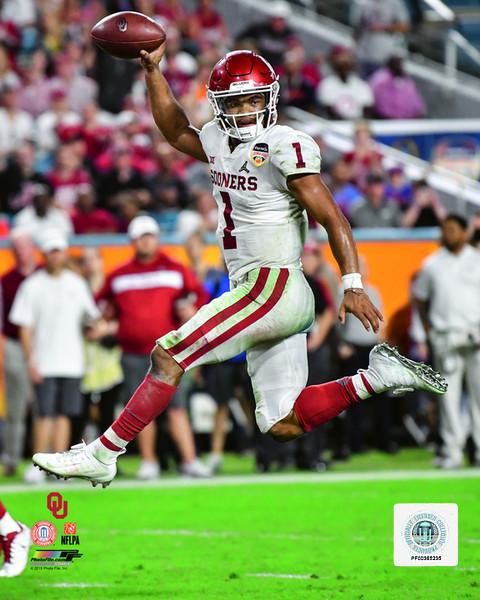 "Kyler Murray Oklahoma Sooners College Football 8"" x 10"" Photo"