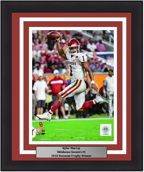 "Kyler Murray Oklahoma Sooners College Football 8"" x 10"" Framed and Matted Photo"