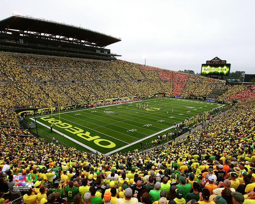 "Oregon Ducks Autzen Stadium NCAA College Football 8"" x 10"" Photo"