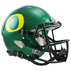 Oregon Ducks NCAA College Riddell Speed Full-Size Authentic Helmet - Dynasty Sports & Framing