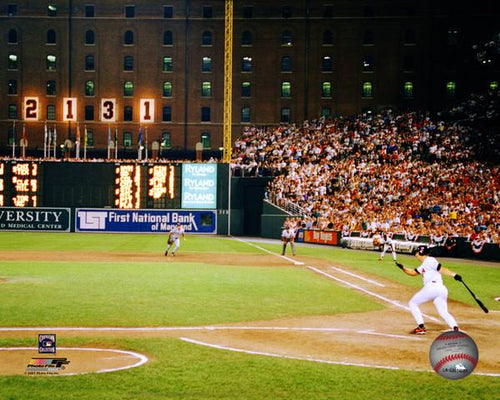 "Cal Ripken, Jr. Baltimore Orioles 2131st Game MLB Baseball 8"" x 10"" Photo - Dynasty Sports & Framing"