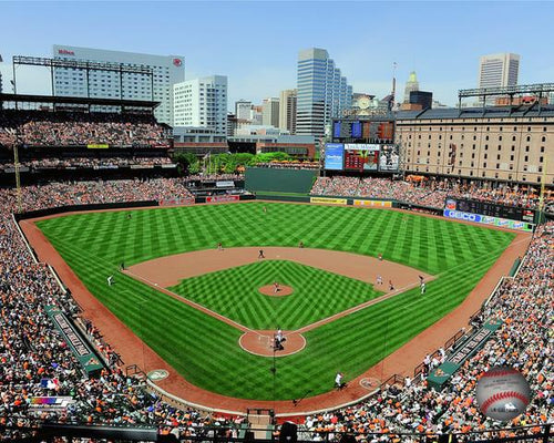 "Baltimore Orioles Oriole Park at Camden Yards Stadium MLB Baseball 8"" x 10"" Photo - Dynasty Sports & Framing"