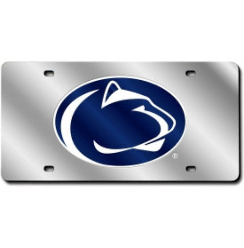 Penn State Nittany Lions NCAA Laser Cut License Plate - Dynasty Sports & Framing