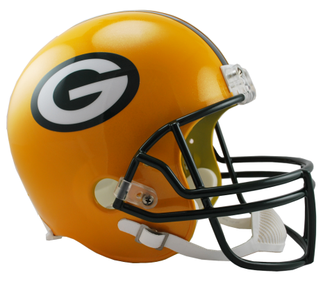 Green Bay Packers NFL Full-Size Helmet Replica
