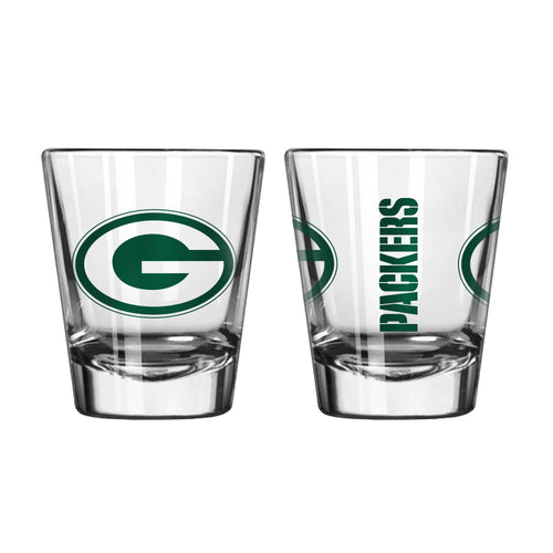 Green Bay Packers NFL Football Game Day Shot Glass - Dynasty Sports & Framing