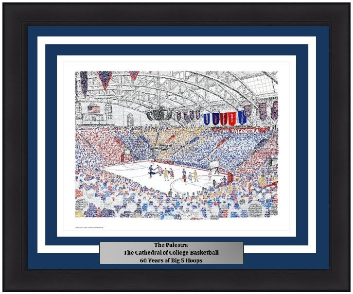 The Palestra Ncaa College Basketball Word Art Photo College