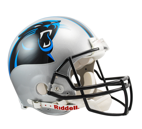 Carolina Panthers Authentic NFL Full-Size Helmet - Dynasty Sports & Framing