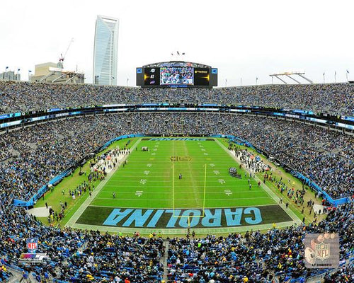 "Carolina Panthers Bank of America Stadium NFL Football 8"" x 10"" Photo"