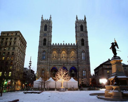 "Notre-Dame Basilica in Montreal 8"" x 10"" Landmark Photo - Dynasty Sports & Framing"