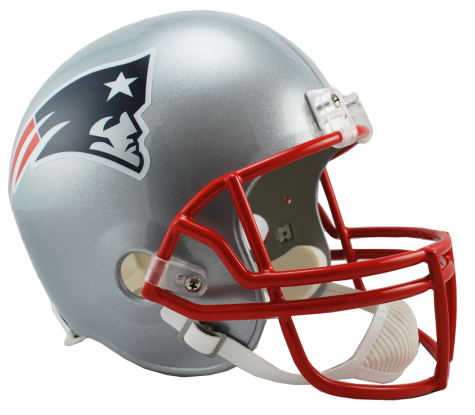 New England Patriots NFL Full-Size Helmet Replica - Dynasty Sports & Framing