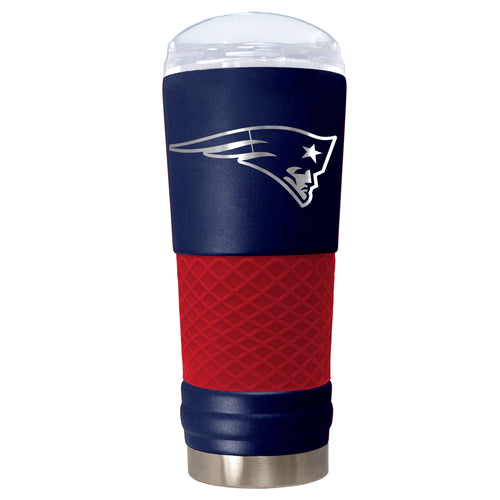 "New England Patriots ""The Draft"" 24 oz. Stainless Steel Travel Tumbler - Dynasty Sports & Framing"