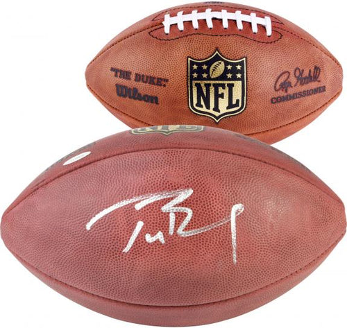 Tom Brady New England Patriots Autographed NFL Official Game Football