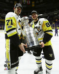 "Pittsburgh Penguins 2017 Stanley Cup Sidney Crosby/Evgeni Malkin 8"" x 10"" Photo - Dynasty Sports & Framing"
