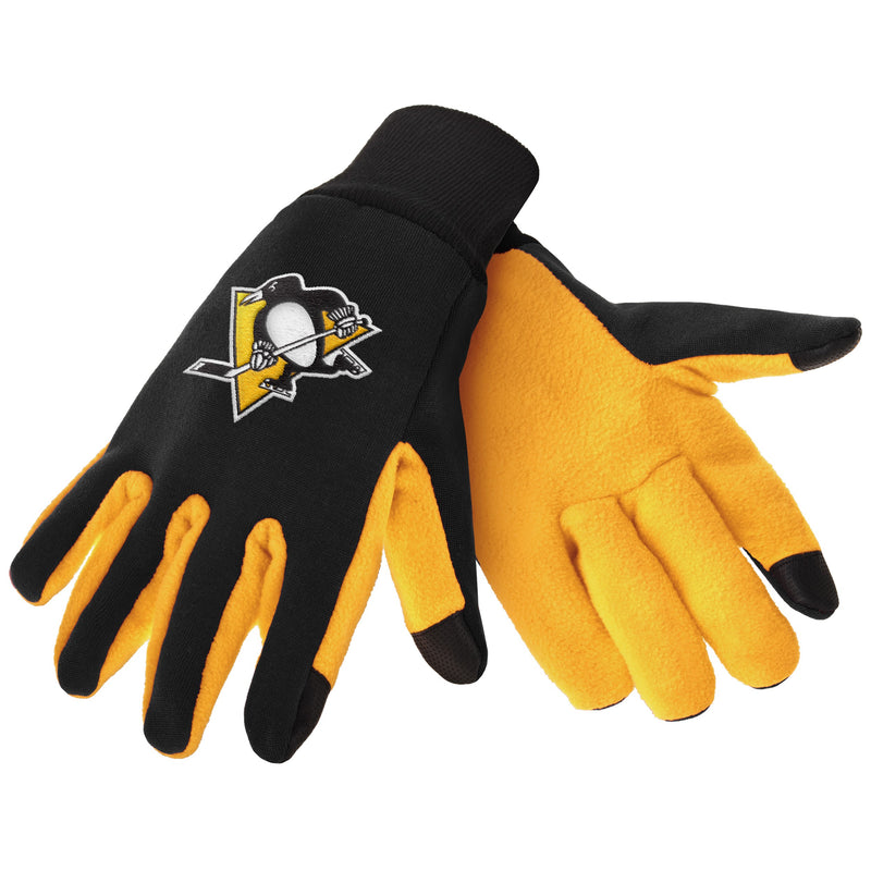 Pittsburgh Penguins NHL Hockey Texting Gloves - Dynasty Sports & Framing