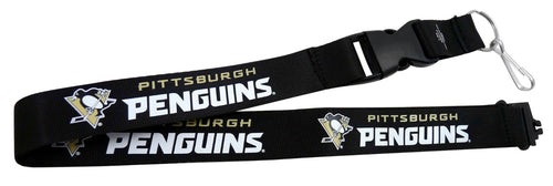 Pittsburgh Penguins NHL Hockey Breakaway Lanyard - Dynasty Sports & Framing