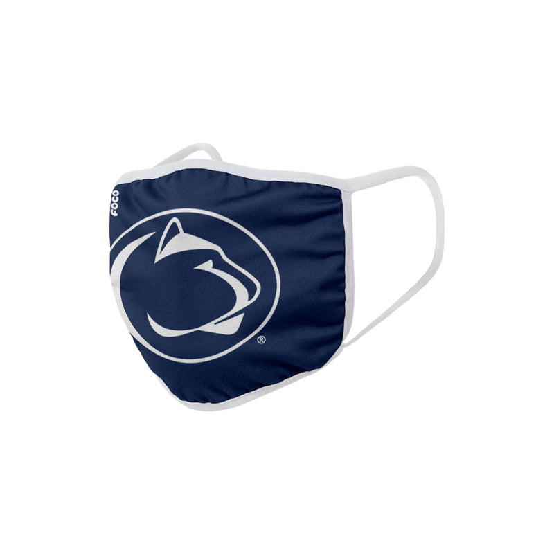 Penn State Nittany Lions Solid Big Logo Face Cover Mask - Dynasty Sports & Framing