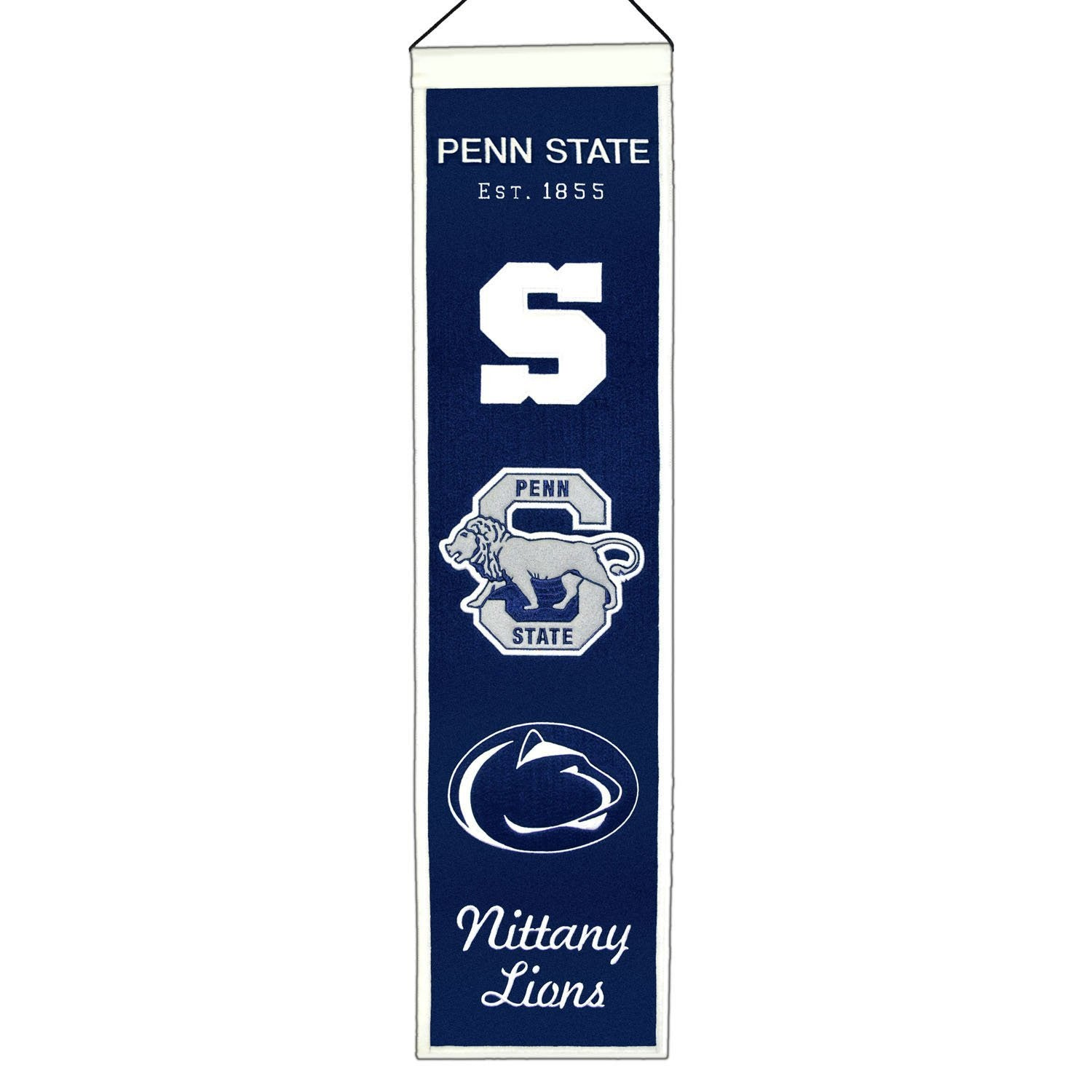 Penn State Nittany Lions NCAA College Heritage Banner | NCAA College ...
