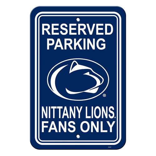 Penn State Nittany Lions NCAA College Parking Sign