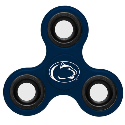 Penn State Nittany Lions NCAA Three Way Team Diztracto Spinnerz