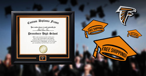 Pennsbury High School Graduation Diploma Frame - Dynasty Sports & Framing