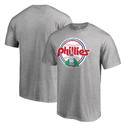 Philadelphia Phillies Cooperstown Collection Forbes T-Shirt - Ash - Dynasty Sports & Framing