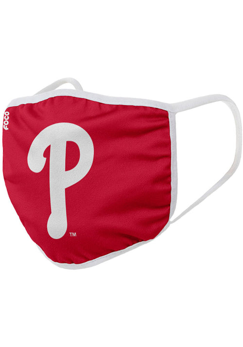 Philadelphia Phillies Solid Big Logo Face Cover Mask - Dynasty Sports & Framing