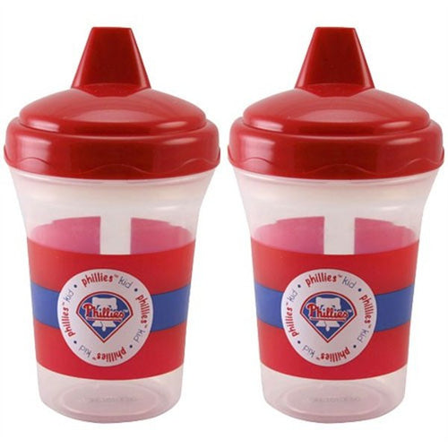 Philadelphia Phillies 2-Pack Sippy Cups - Dynasty Sports & Framing
