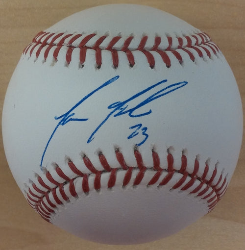 Philadelphia Phillies Aaron Altherr Autographed Official Major League Baseball - Dynasty Sports & Framing