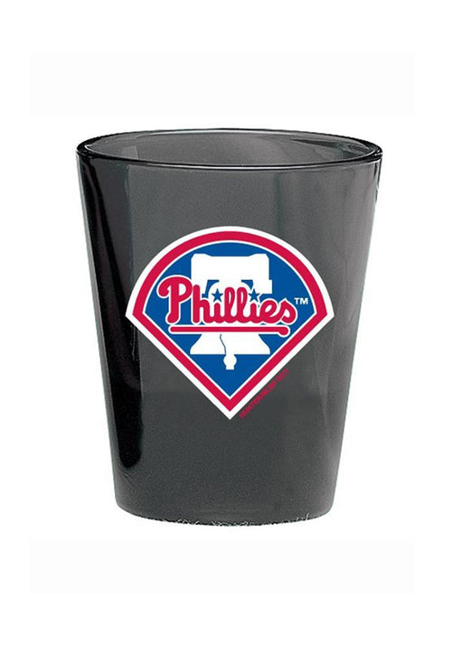 Philadelphia Phillies MLB Baseball Black Shot Glass - Dynasty Sports & Framing