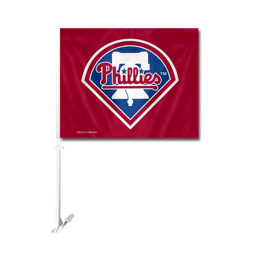 Philadelphia Phillies MLB Baseball Car Flag