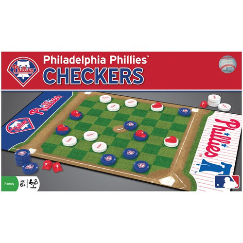 Philadelphia Phillies Checkers Board Game