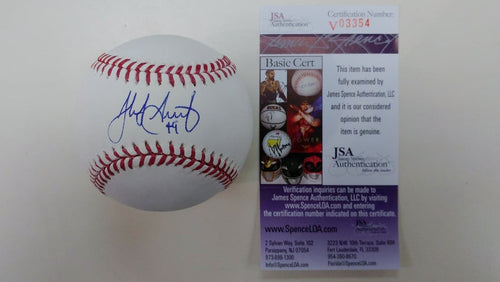 Philadelphia Phillies Jake Arrieta Autographed Official Major League Baseball